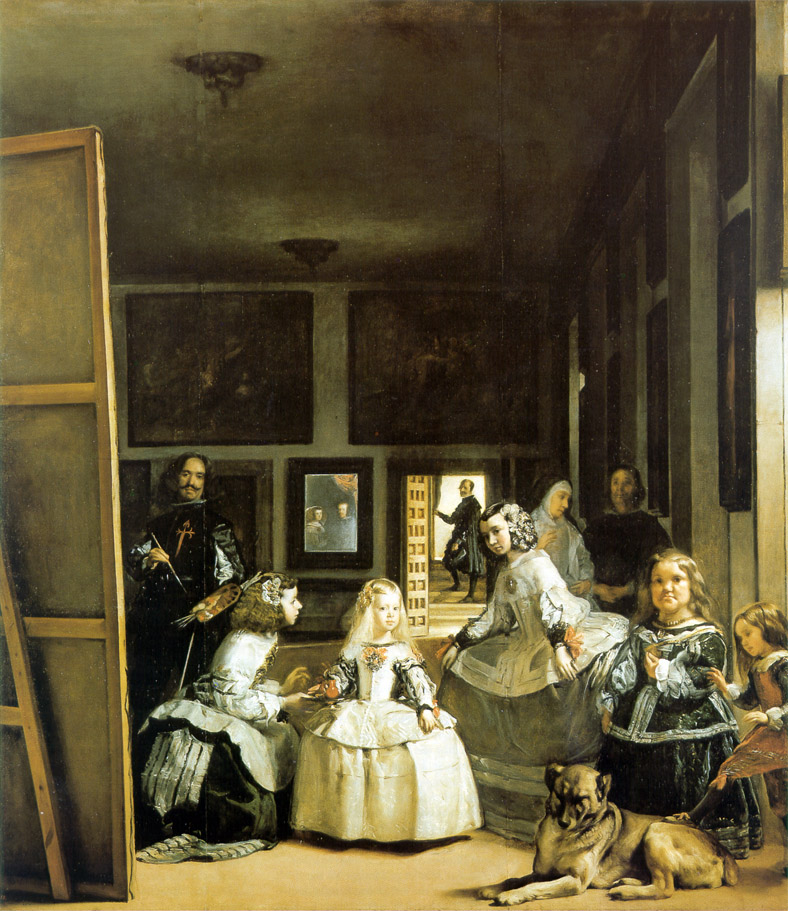 Someone is watching you! - Diego Velázquez, Las Meninas (1656)